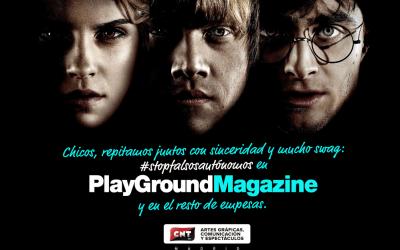 Playground Magazine CNT